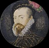 Robert Dudley by Hilliard, 1572 - 1574