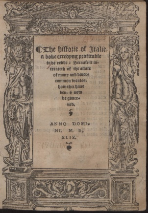 The_historie_of_Italie._Frontespizio